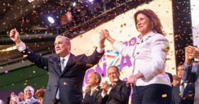 PLD mueve sus fichas y presenta a Margarita como vice de Gonzalo