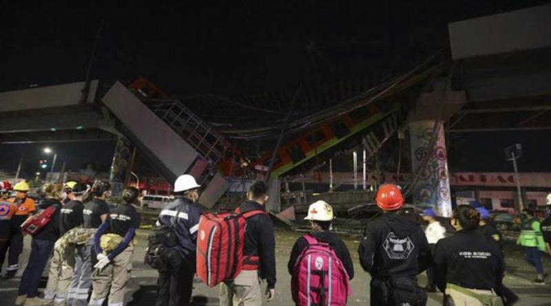 [Última Hora]Metro cae en Ciudad de México: 23 muertos y 70 heridos